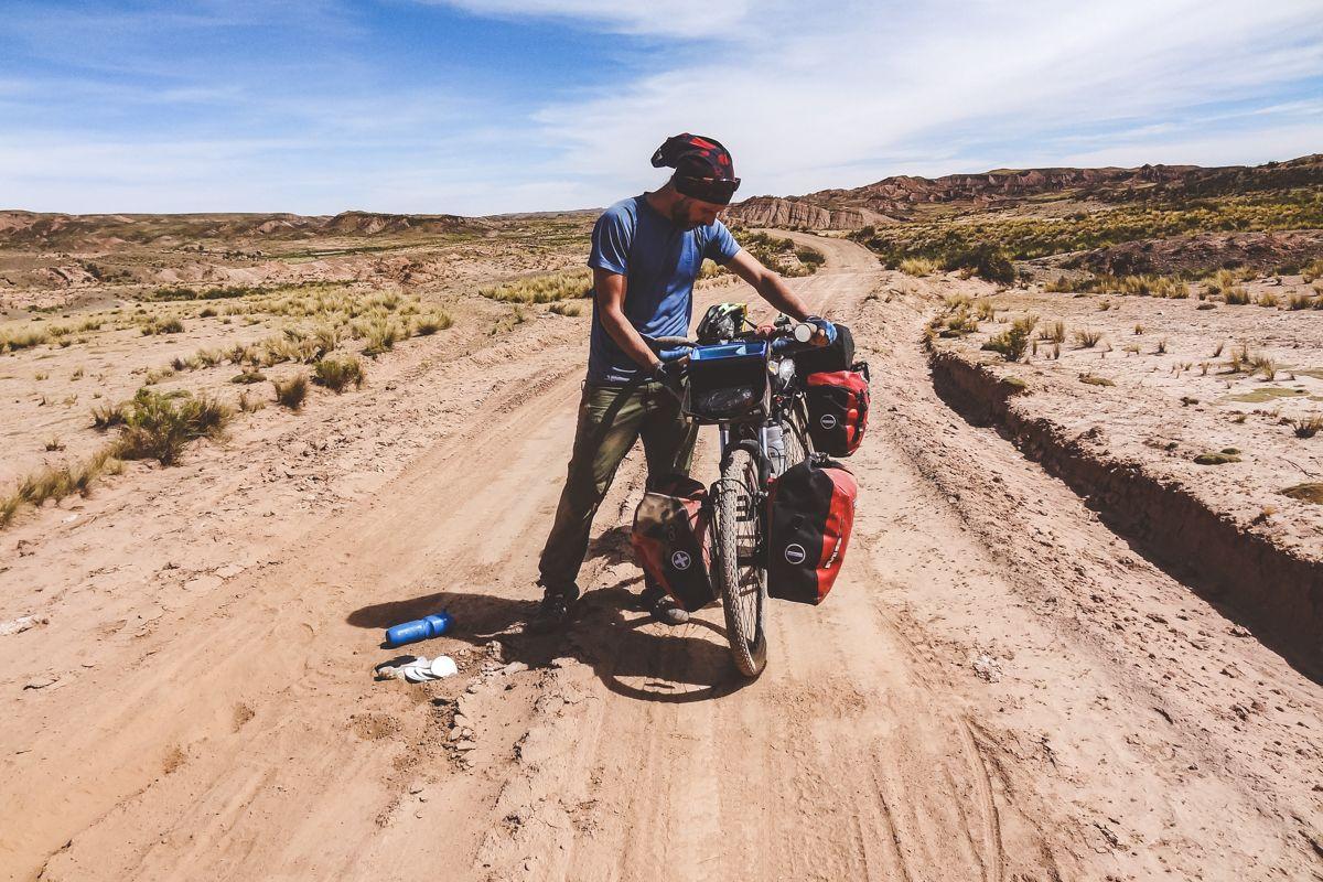 Cycling La Paz to Sajama, Bolivia