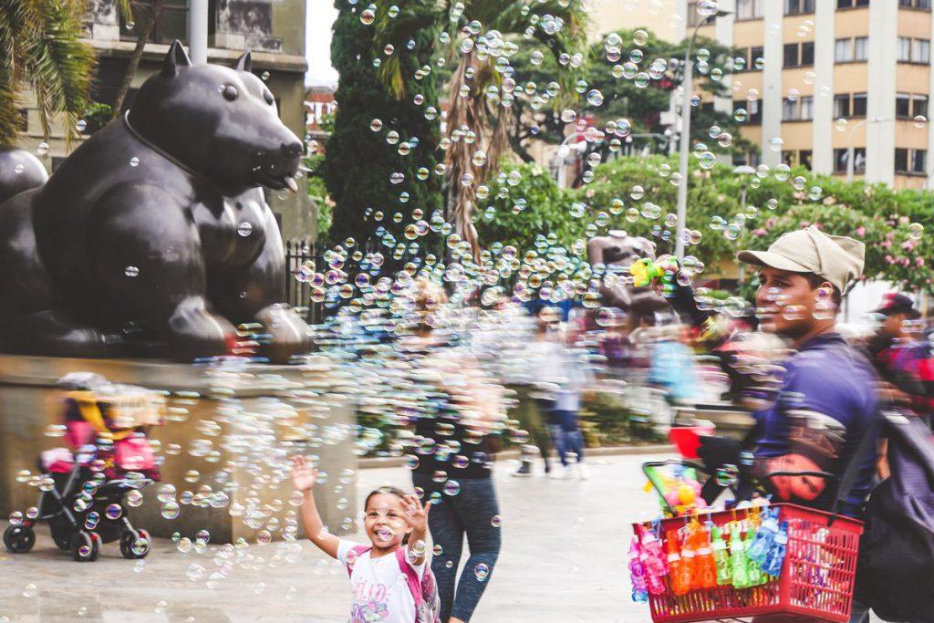 plaza botero - sketch Medellin