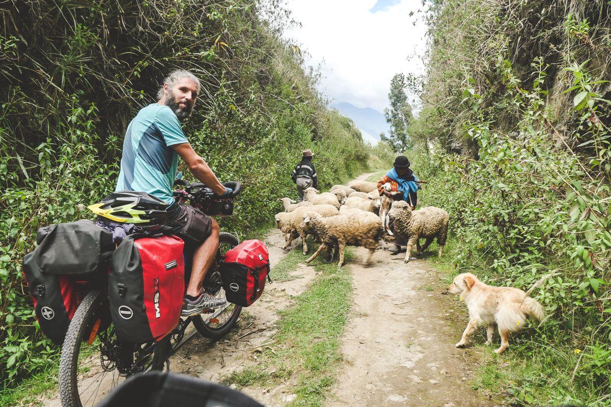 sketch and cycle Ecuador